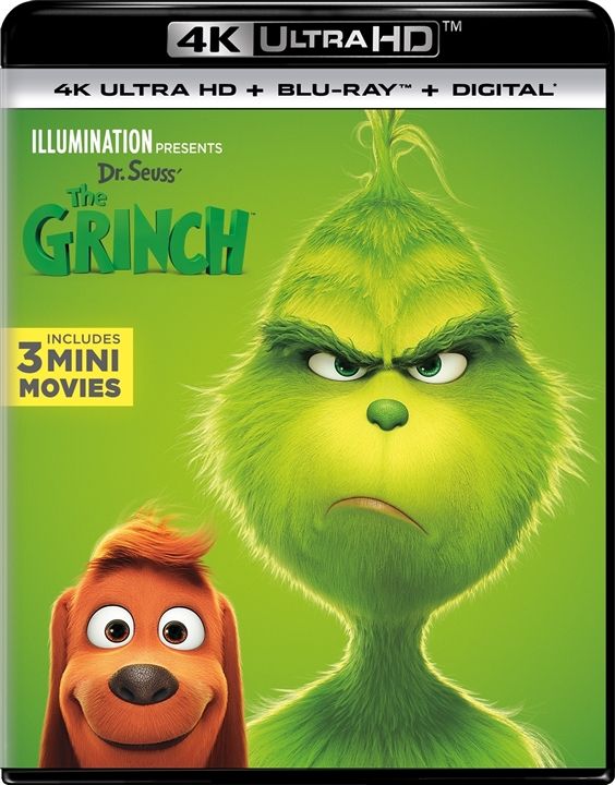 Dr. Seuss The Grinch (2018) 4K Ultra HD