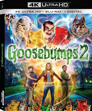 Goosebumps 2 (2018) 4K Ultra HD