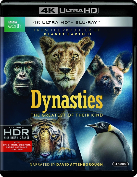 Dynasties 4K (2018) Ultra HD