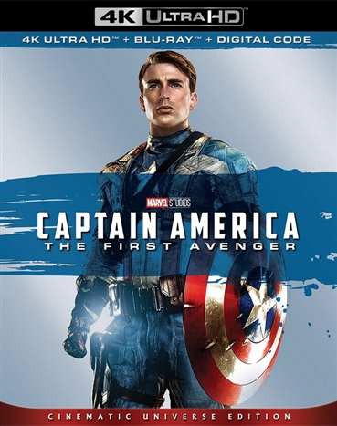 Captain America: The First Avenger (2011) 4K Ultra HD