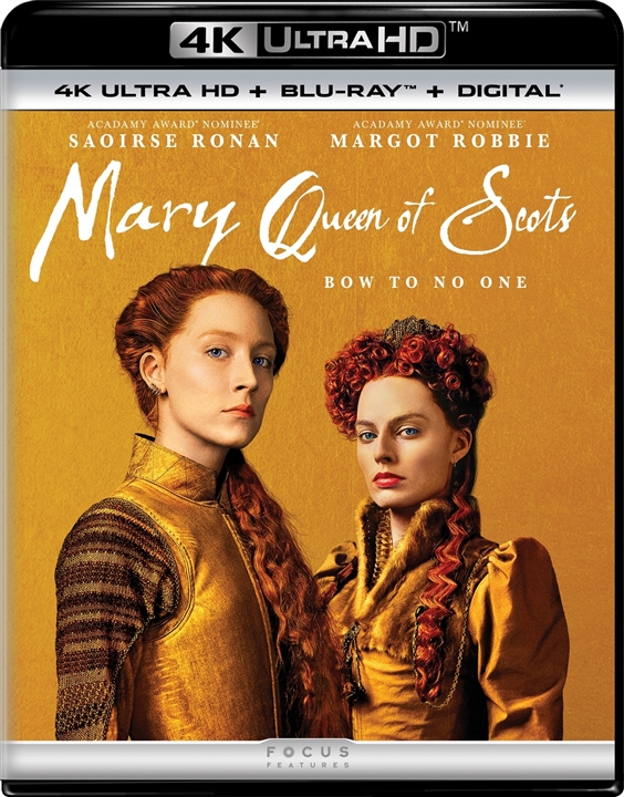 Mary Queen of Scots 4K (2018) Ultra HD