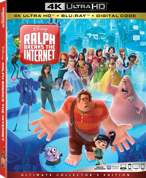 Ralph Breaks the Internet 4K (2018) Ultra HD