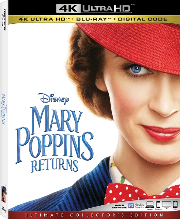 Mary Poppins Returns 4K (2018) Ultra HD