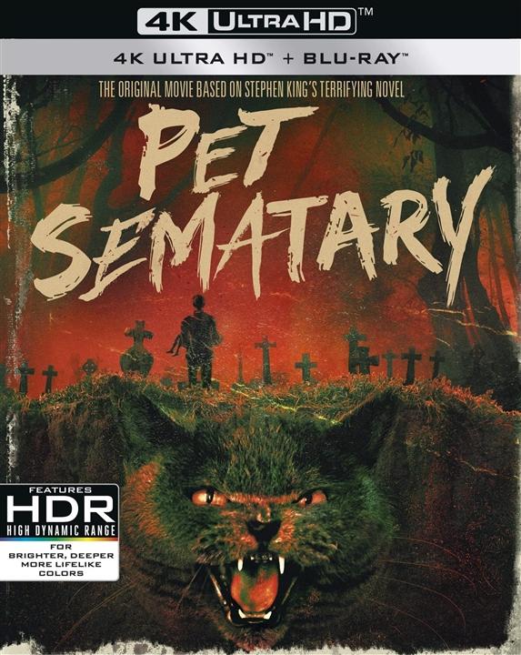 Pet Sematary 4K (30th Anniversary Edition)(1989) 4K Ultra HD