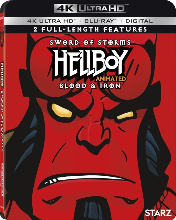 Hellboy Animated: Sword of Storms / Blood & Iron (4K Ultra HD Blu-ray)