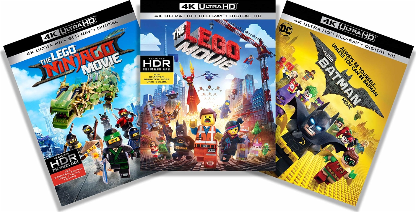 The Lego Movie: 3-Film Collection 4K (2014-2017) Ultra HD