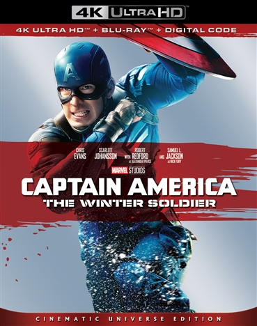 Captain America: The Winter Soldier 4K (2014) Ultra HD