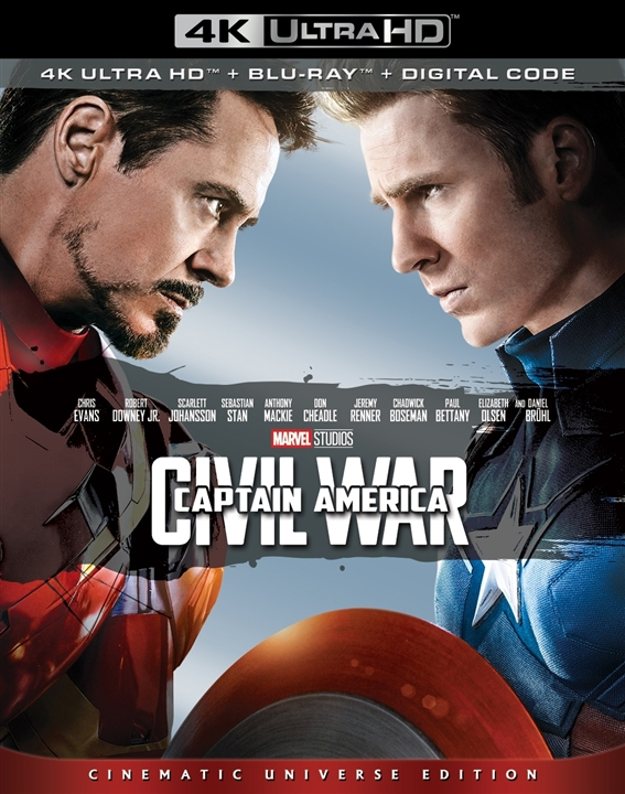 Captain America: Civil War 4K (2016) 4K Ultra HD