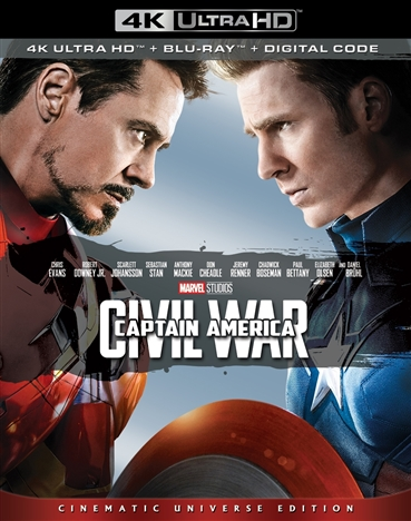 Captain America: Civil War 4K (2016) 4K Ultra HD