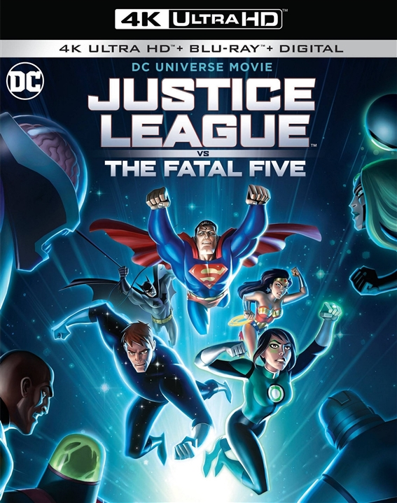 Justice League vs The Fatal Five (4K Ultra HD Blu-ray)