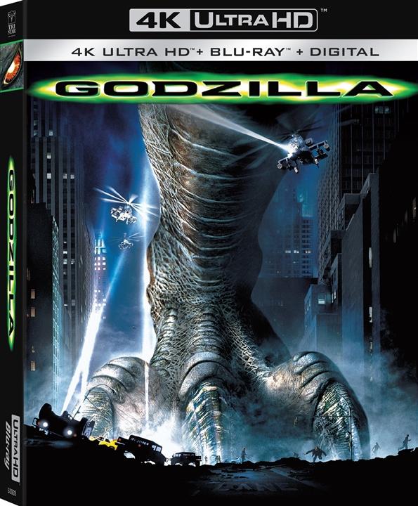 Godzilla (1998)(4K Ultra HD Blu-ray)