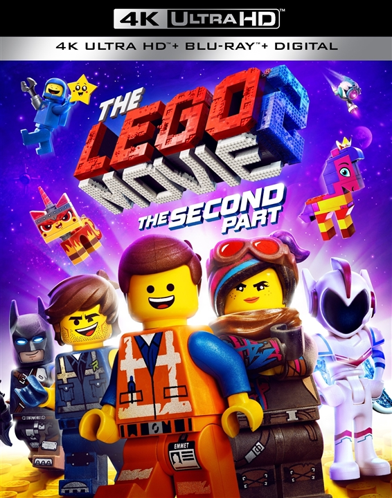 The LEGO Movie 2: The Second Part (4K Ultra HD Blu-ray)