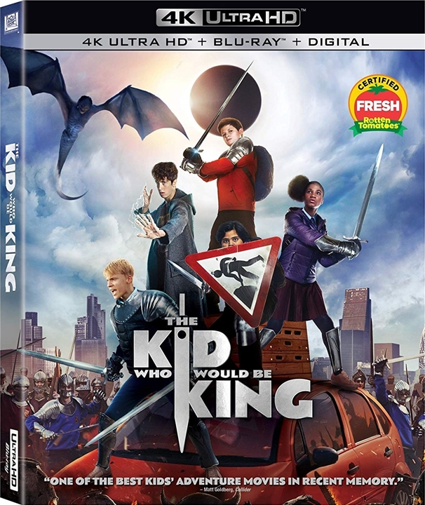 The Kid Who Would Be King (4K Ultra HD Blu-ray)