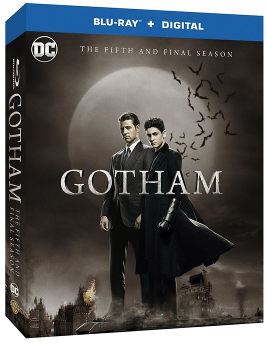 Gotham: The Complete Fifth and Final Season (Blu-ray)(Region Free)