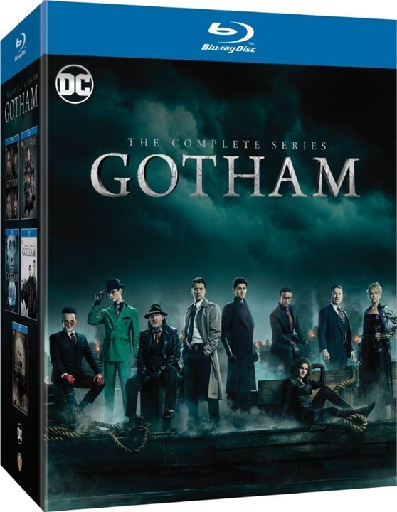 Gotham: The Complete Series (Seasons 1-5)(Blu-ray)(Region Free)