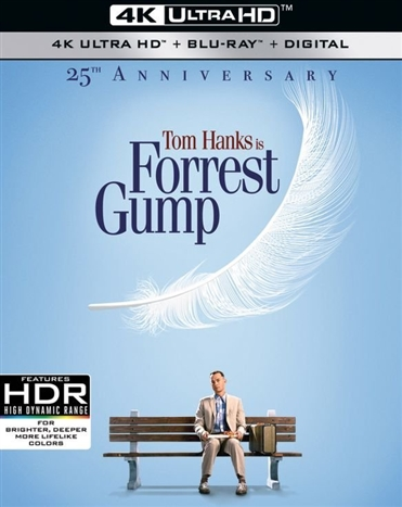 Forrest Gump (25th Anniversary Edition)(4K Ultra HD Blu-ray)