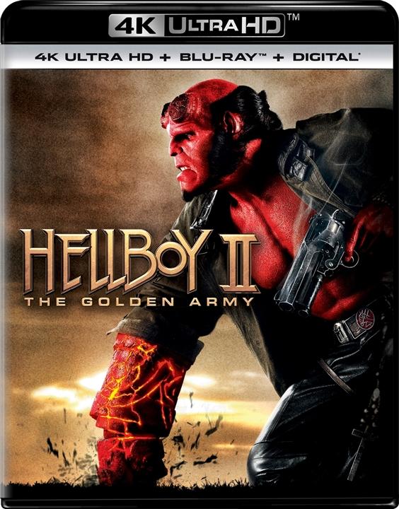 Hellboy 2: The Golden Army (4K Ultra HD Blu-ray)