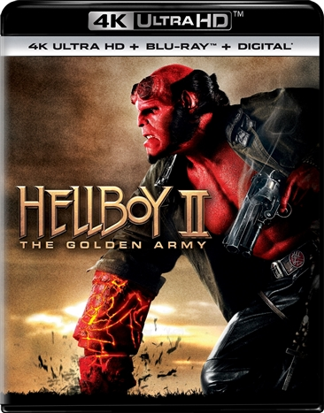 Hellboy 2: The Golden Army (4K Ultra HD Blu-ray)