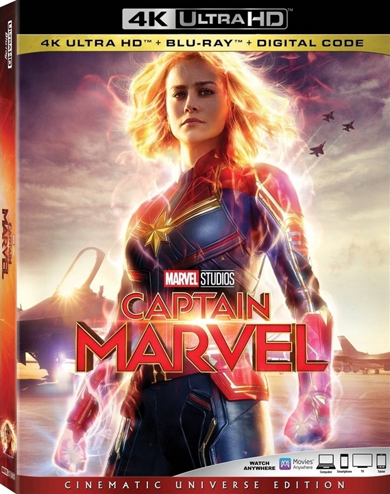 Captain Marvel (4K Ultra HD Blu-ray)