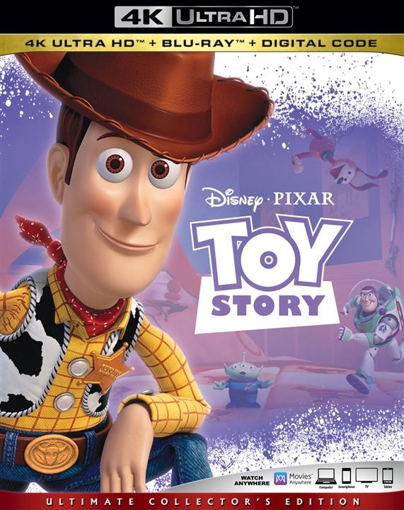 Toy Story 4K (1995) Ultra HD