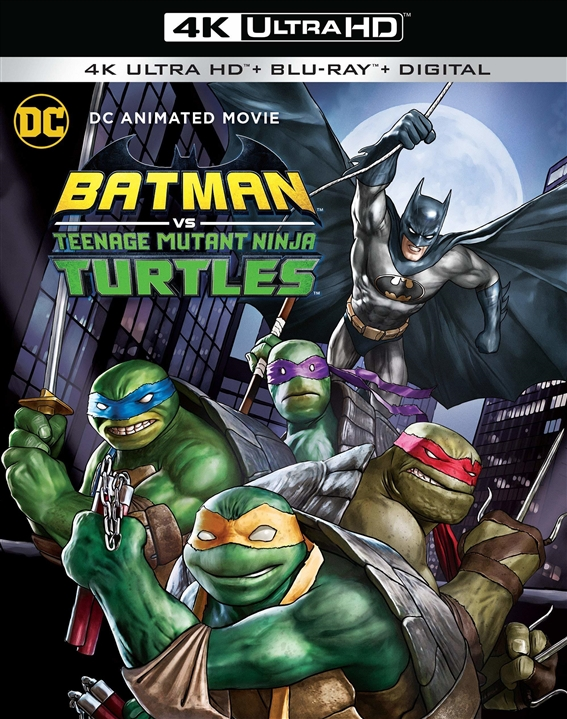 Batman Vs. Teenage Mutant Ninja Turtles (4K Ultra HD Blu-ray)