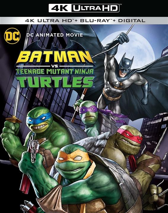 Batman Vs. Teenage Mutant Ninja Turtles (4K Ultra HD Blu-ray)
