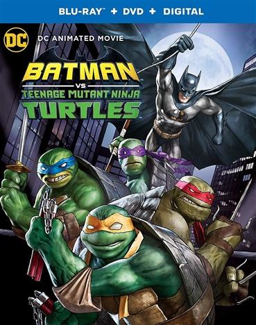 Batman vs. Teenage Mutant Ninja Turtles (Blu-ray)(Region Free)