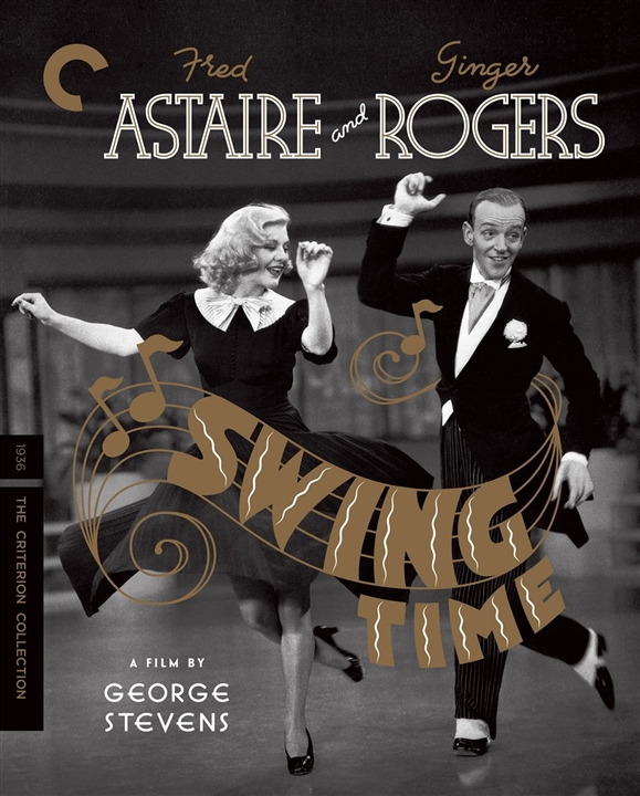 Swing Time (The Criterion Collection)(Blu-ray)(Region A)