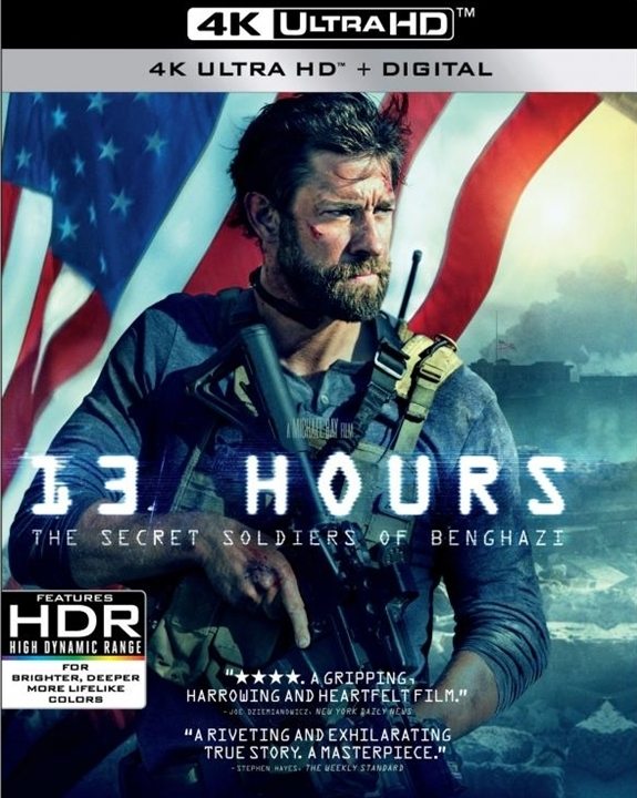 13 Hours: The Secret Soldiers of Benghazi (4K Ultra HD Blu-ray)