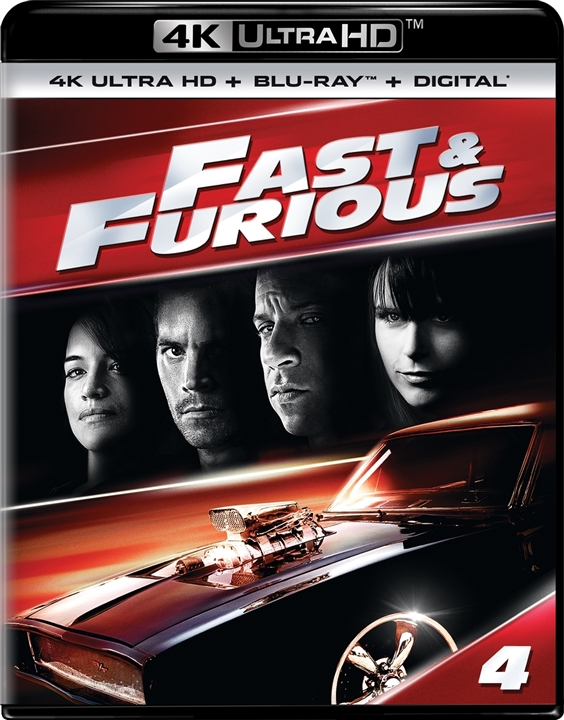 Fast & Furious (4)(4K Ultra HD Blu-ray)