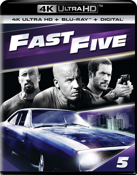 Fast Five (5)(4K Ultra HD Blu-ray)