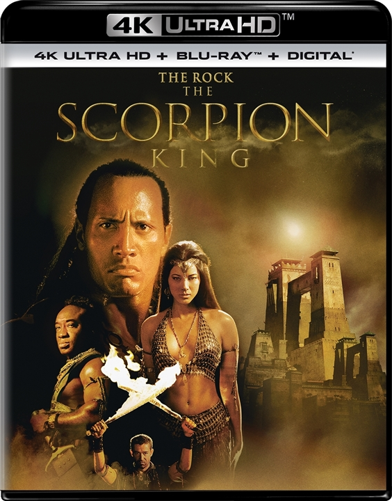 The Scorpion King (4K Ultra HD Blu-ray)