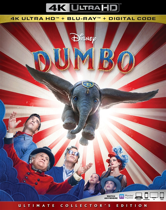 Dumbo (Live Action)(4K Ultra HD Blu-ray)