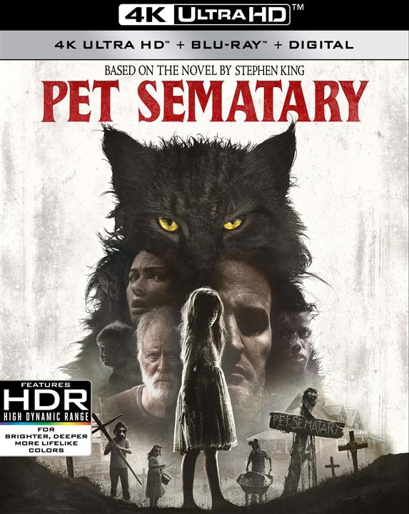 Pet Sematary (2019)(4K Ultra HD Blu-ray)(Pre-order / Jul 9)
