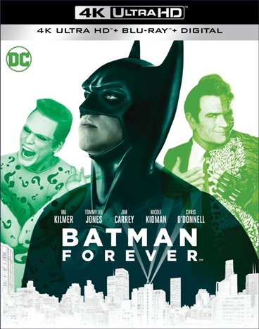 Batman Forever (4K Ultra HD Blu-ray)