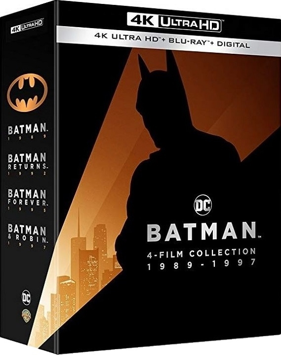 Batman 4 Film Collection (4K Ultra HD Blu-ray)