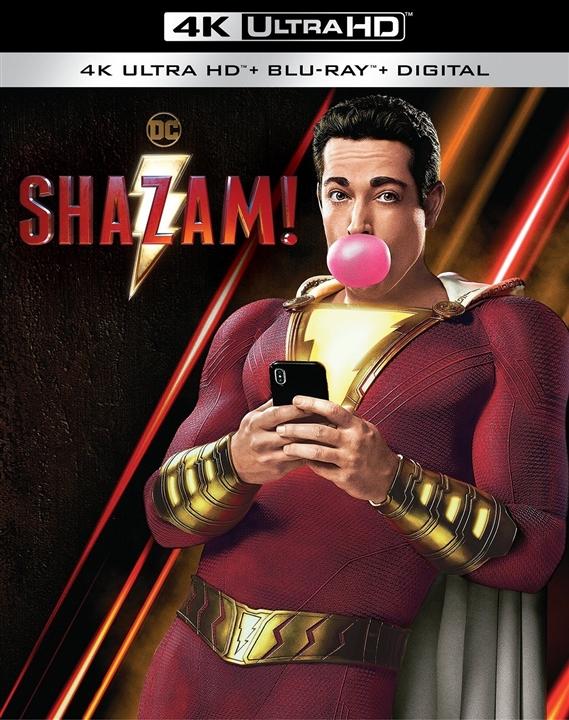 Shazam! (4K Ultra HD Blu-ray)(Pre-order / Jul 16)