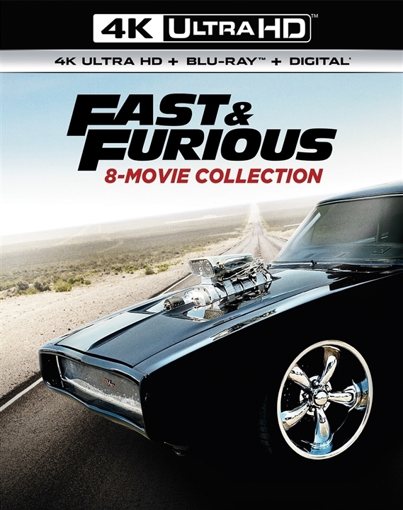 Fast & Furious: 8-Movie Collection 4K Ultra HD
