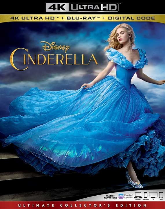 Cinderella (Live Action)(4K Ultra HD Blu-ray)