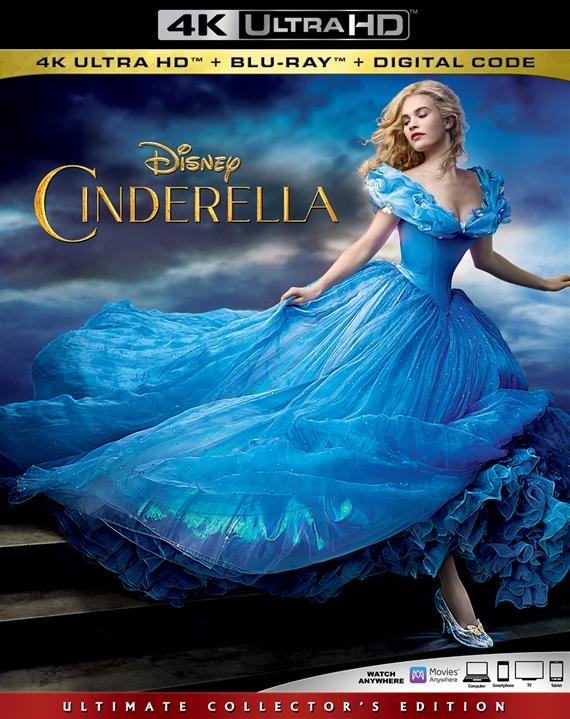 Cinderella (Live Action)(4K Ultra HD Blu-ray)