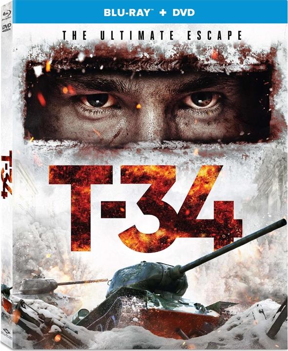 T-34 (Blu-ray)(Region Free)