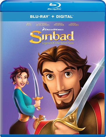 Sinbad: Legend of the Seven Seas (Blu-ray)(Region Free)