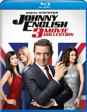 Johnny English: 3-Movie Collection (Blu-ray)(Region Free)