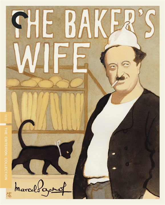 The Baker's Wife (The Criterion Collection)(Blu-ray)(Region A)