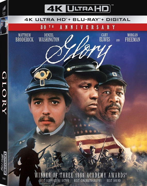 Glory (30th Anniversary Edition)(4K Ultra HD Blu-ray)(Pre-order / Jul 30)