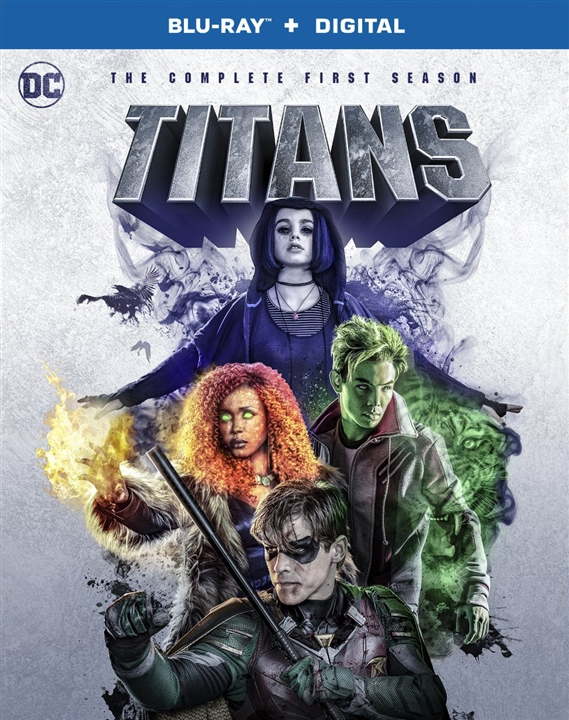 Titans: The Complete First Season (Blu-ray)(Region Free)