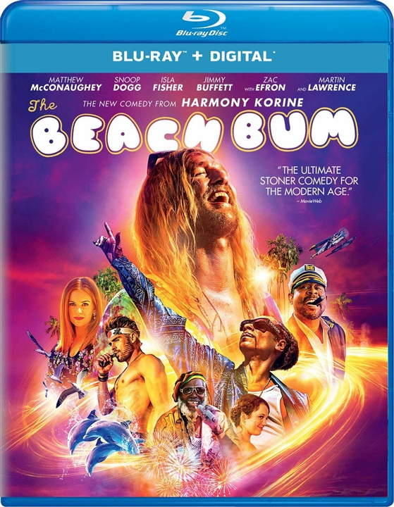 The Beach Bum (Blu-ray)(Region A)