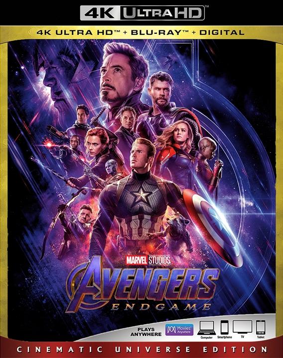 Avengers: Endgame (4K Ultra HD Blu-ray)(Pre-order / TBA)
