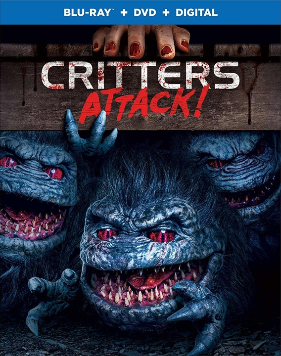 Critters Attack! (Blu-ray)(Region Free)