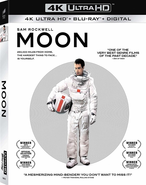 Moon (4K Ultra HD Blu-ray)(Pre-order / Jul 16)